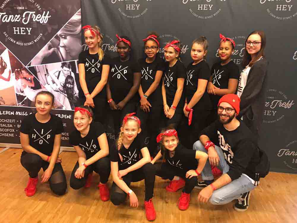 Hip-Hop-Tanzen – Vizemeistertitel für die Diamond Girls!